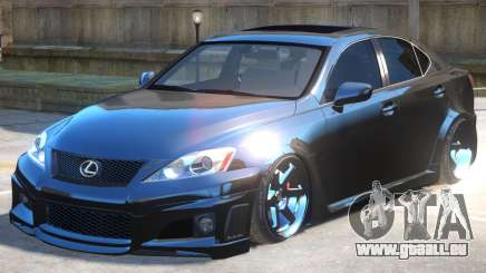 Lexus IS Improved pour GTA 4