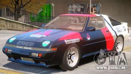 1986 Mitsubishi Starion PJ1 pour GTA 4