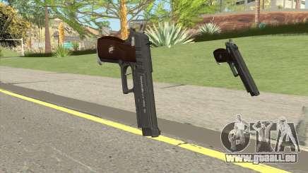 Hawk And Little Pistol GTA V Black (New Gen) V1 für GTA San Andreas