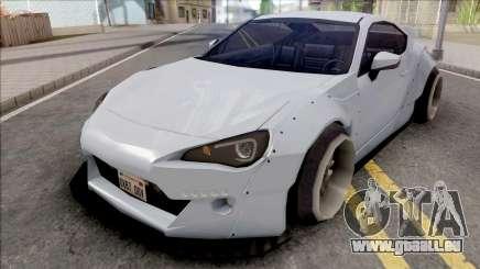 Toyota GT86 Rocket Bunny Low Poly für GTA San Andreas