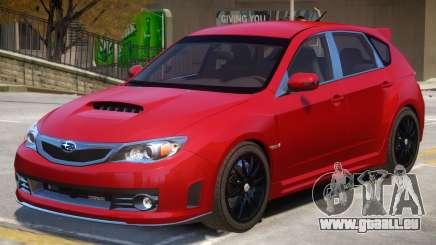 Subaru Impreza STI V2 pour GTA 4