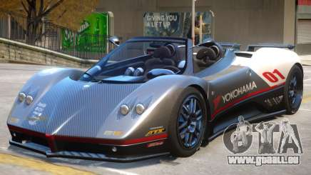 Pagani Zonda C12S V1.3 pour GTA 4