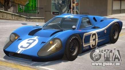 1967 Ford GT40 PJ2 für GTA 4