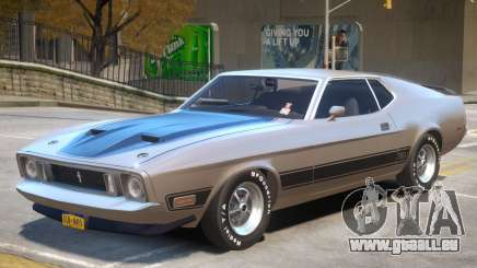 1973 Ford Mustang R1 pour GTA 4