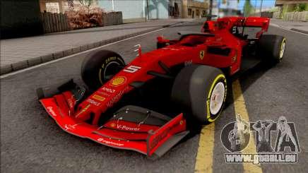 F1 Ferrari 2019 für GTA San Andreas
