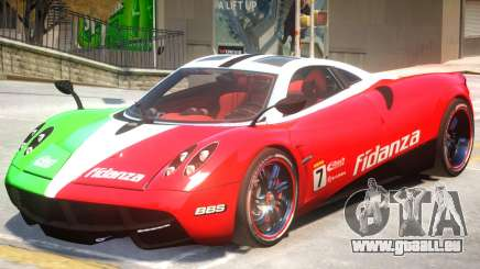 Pagani Huyara V1 PJ2 pour GTA 4