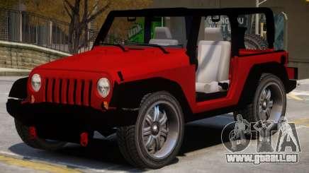 Jeep Wrangler V1 pour GTA 4