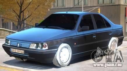 Peugeot 405 V1 pour GTA 4