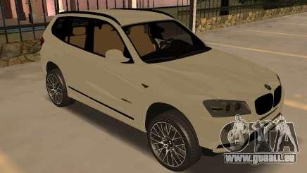 BMW X3 F25 2012 v1.0 Bulkin edition pour GTA San Andreas