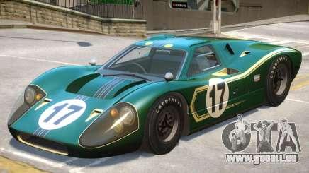 1967 Ford GT40 V1 PJ7 für GTA 4