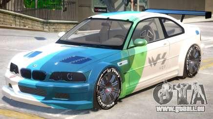 BMW M3 GTR PJ2 pour GTA 4