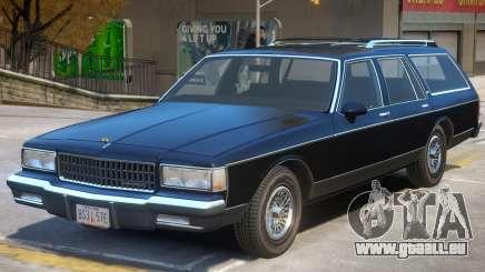 1989 Chevrolet Caprice V1.2 pour GTA 4