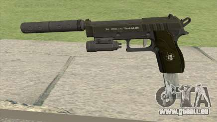 Hawk And Little Pistol GTA V (Green) V3 pour GTA San Andreas