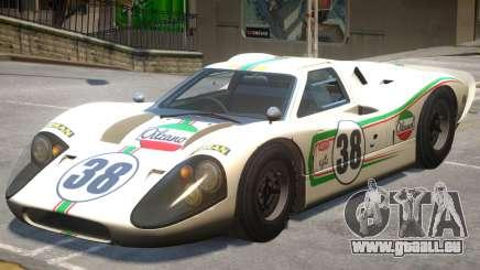 1967 Ford GT40 V1 PJ1 für GTA 4