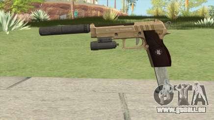 Hawk And Little Pistol GTA V (Army) V3 pour GTA San Andreas