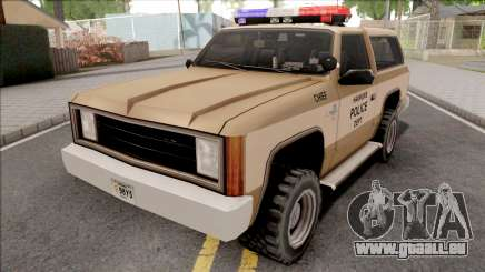 Police Ranger Hawkins PD from Stranger Things für GTA San Andreas