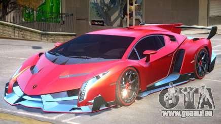 Lamborghini Veneno V1.1 pour GTA 4