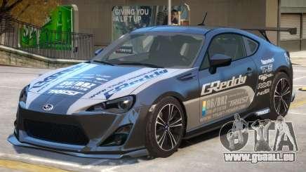 Subaru BRZ V1 PJ2 pour GTA 4