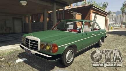 Mercedes-Benz 230 W123 1978 v2.0 für GTA 5