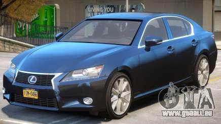 Lexus GS300H für GTA 4