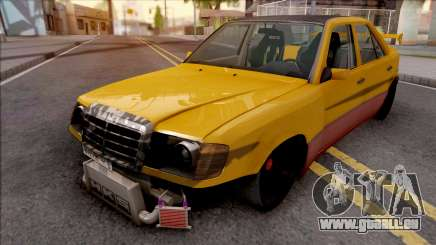 Mercedes-Benz W124 Custom Turbo pour GTA San Andreas