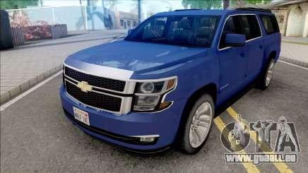 Chevrolet Suburban 2015 LTZ Lowpoly pour GTA San Andreas