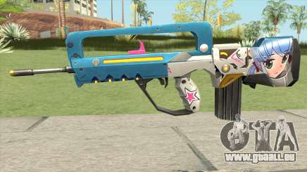 Famas Weaboo für GTA San Andreas