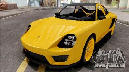 GTA V Pfister Comet SR Yellow für GTA San Andreas