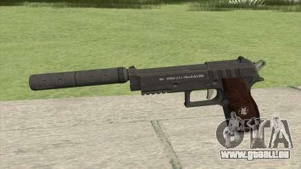 Hawk And Little Pistol GTA V Black (New Gen) V6 pour GTA San Andreas