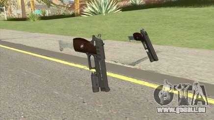 Hawk And Little Pistol GTA V Black (New Gen) V5 für GTA San Andreas