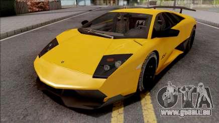 Lamborghini Murcielago LP670-4 SV Yellow für GTA San Andreas