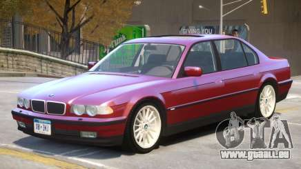 1998 BMW 750iL V1.1 pour GTA 4