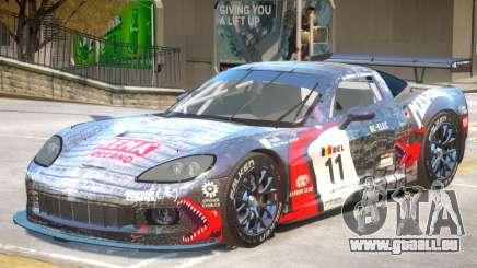 Chevrolet Corvette GT PJ1 für GTA 4