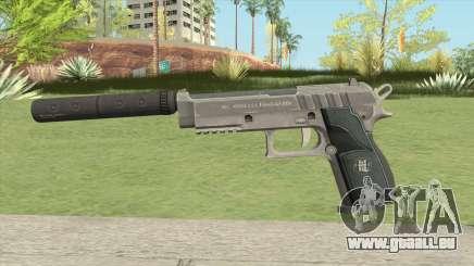 Hawk And Little Pistol GTA V Black (Old Gen) V6 pour GTA San Andreas