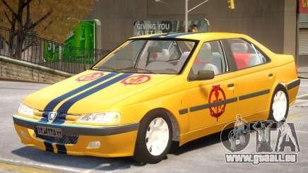 Peugeot Pars V1 PJ4 pour GTA 4