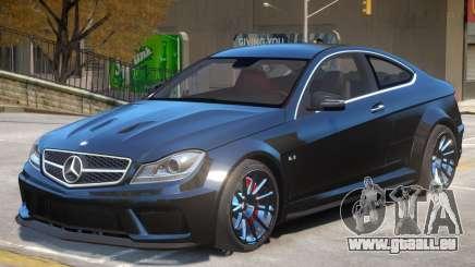 Mercedes Benz C63 V1 pour GTA 4
