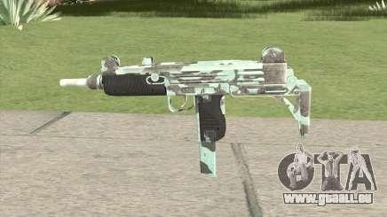 Uzi (Aquamarine) für GTA San Andreas