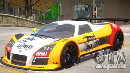 Gumpert Apollo V2 PJ2 pour GTA 4
