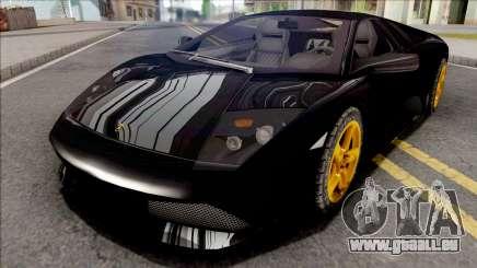 Lamborghini Murcielago LP640 Black für GTA San Andreas