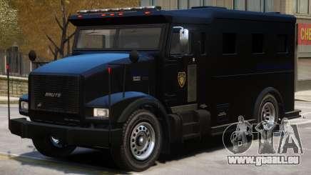 SWAT Armored Van für GTA 4