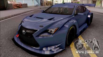 Lexus RC F GT3 2017 für GTA San Andreas