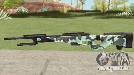 Rifle (Aquamarine) für GTA San Andreas