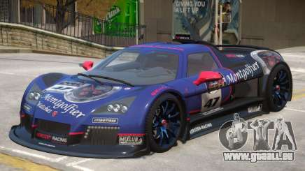 Gumpert Apollo V2 PJ3 pour GTA 4