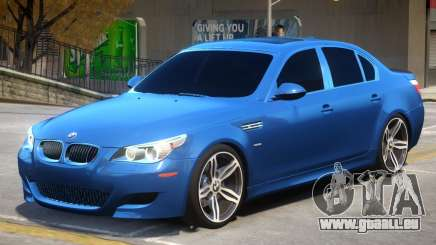 BMW M5 E60 R2 pour GTA 4