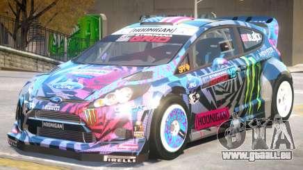 Ford Fiesta Hoonigan PJ pour GTA 4