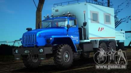 Ural 44202-0311-60Е5 - Mobile Werkstatt-LP für GTA San Andreas