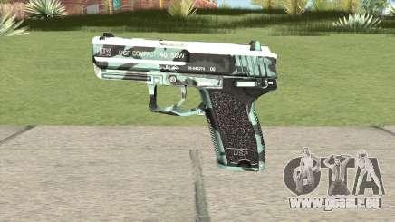 Desert Eagle (Aquamarine) für GTA San Andreas