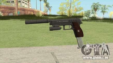 Hawk And Little Pistol GTA V Black (New Gen) V3 pour GTA San Andreas