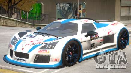 Gumpert Apollo V2 PJ4 pour GTA 4
