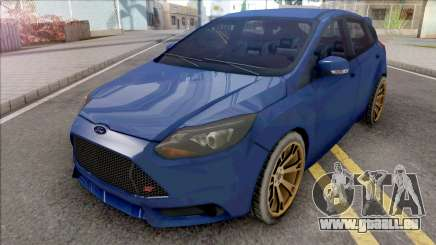 Ford Focus ST 2019 Low Poly pour GTA San Andreas